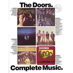 THE DOORS - COMPLETE MUSIC P/V/G