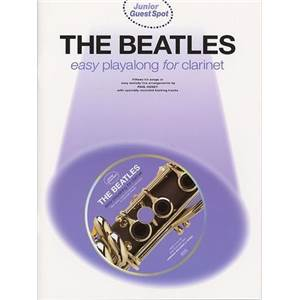 BEATLES THE - JUNIOR GUEST SPOT EASY POUR CLARINETTE + CD