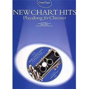 COMPILATION - GUEST SPOT NEW CHART TITLES PLAY ALONG FOR CLARINET + CD