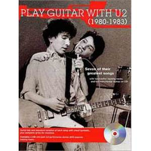 U2 - PLAY GUITAR WTH... 80 83 TAB. + CD