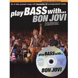 BON JOVI - PLAY BASS WITH + CD