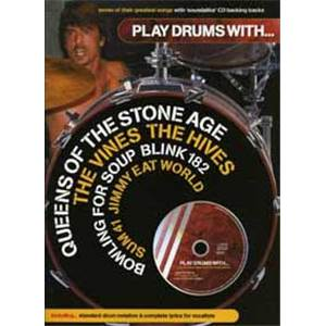 COMPILATION - PLAY DRUMS WITH QUEENS OF, JIMMY EAT, BLINK 182... + CD