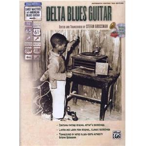 GROSSMAN STEFAN - DELTA BLUES GUITAR TAB. + CD