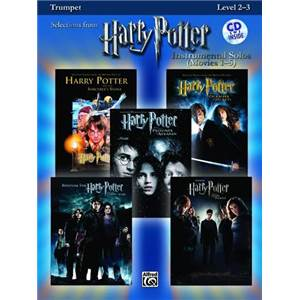 COMPILATION - SELECTIONS FROM HARRY POTTER FOR TRUMPET LEVEL 2 3 + CD