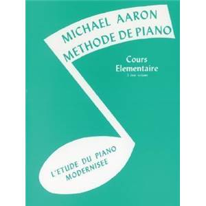 AARON MICHAEL - METHODE COURS ELEMENTAIRE VOL.3