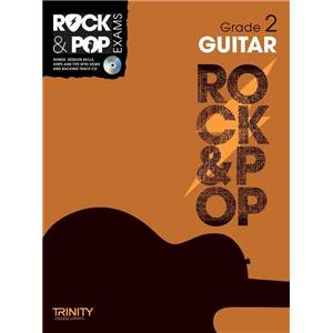COMPILATION - TRINITY COLLEGE LONDON : ROCK & POP GRADE 2 FOR GUITAR + CD