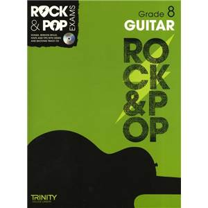 COMPILATION - TRINITY COLLEGE LONDON : ROCK & POP GRADE 8 FOR GUITAR + CD