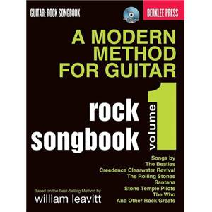 COMPILATION - LEAVITT METHODE MODERNE DE GUITARE BERKLEE VOL.1 ROCK SONGBOOK + CD