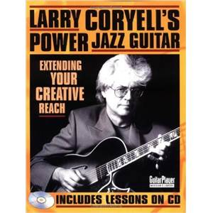 CORYELL LARRY - POWER JAZZ GUITAR TAB. + CD