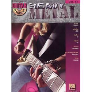 COMPILATION - GUITAR PLAY ALONG VOL.054 HEAVY METAL + CD