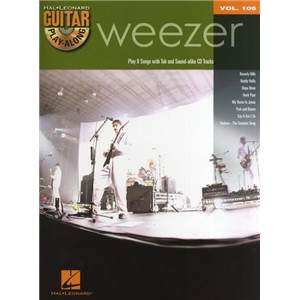 WEEZER - GUITAR PLAY ALONG VOL.106 + CD