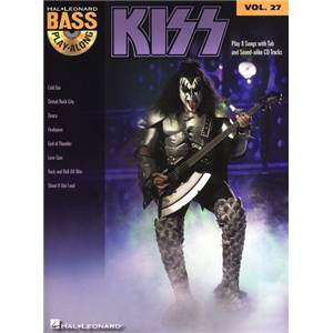 KISS - BASS PLAY ALONG VOL.27 + CD
