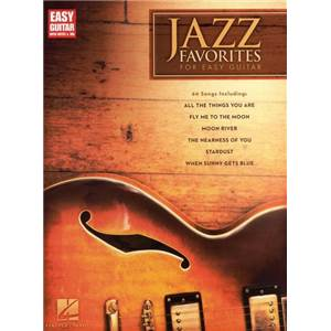 COMPILATION - JAZZ FAVORITES FOR EASY GUITAR