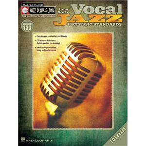 COMPILATION - JAZZ PLAY ALONG VOL.130 VOCAL JAZZ (LOW VOICES) + CD