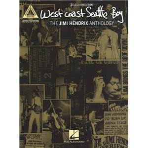 HENDRIX JIMI - WEST COAST SEATTLE BOY ANTHOLOGY GUITAR TAB.