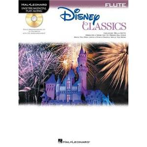 DISNEY - CLASSICS FLUTE (FLUTE TRAVERSIERE) PLAY ALONG + CD