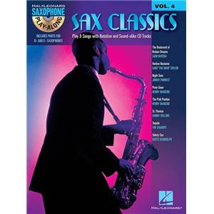 COMPILATION - SAXOPHONE PLAY-ALONG VOLUME 4 SAX CLASSICS + CD