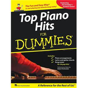 COMPILATION - TOP PIANO HITS FOR DUMMIES 36 SONGS