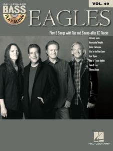 THE EAGLES - BASS PLAY-ALONG VOL.49 + CD