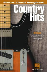 COMPILATION - GUITAR CHORD SONGBOOK: COUNTRY HITS 40 SONGS
