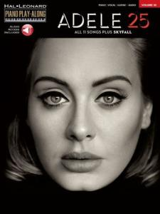ADELE - PIANO PLAY-ALONG VOL.32 ALBUM 25 + ONLINE AUDIO ACCESS