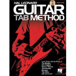 HAL LEONARD - GUITAR TAB. METHOD GUITARE ROCK + CD