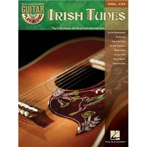 COMPILATION - GUITAR PLAY ALONG VOL.137 IRISH TUNES + CD