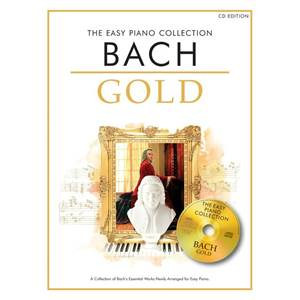 BACH JEAN SEBASTIEN - EASY GOLD BACH ESSENTIAL PIANO COLLECTION + CD