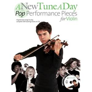 COMPILATION - A NEW TUNE A DAY VIOLIN : POP PERFORMANCE PIECES + CD