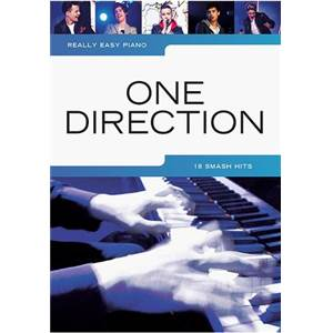 ONE DIRECTION - REALLY EASY PIANO 18 SMASH HITS