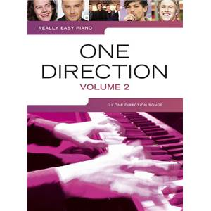 ONE DIRECTION - REALLY EASY PIANO VOLUME 2