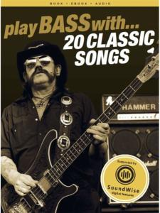 COMPILATION - PLAY BASS WITH 20 CLASSIC SONGS + ONLINE AUDIO ACCESS
