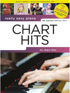 COMPILATION - REALLY EASY PIANO : CHART HITS #5 AUTUMN/WINTER 2017