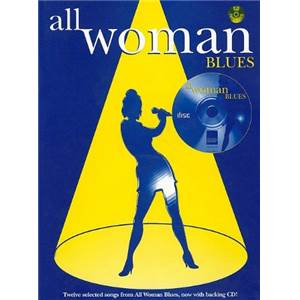 COMPILATION - ALL WOMAN BLUES P/V/G
