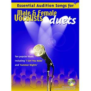 COMPILATION - ESSENTIAL AUDITION SONGS DUETS + CD