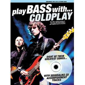 COLDPLAY - PLAY BASS WITH... + CD