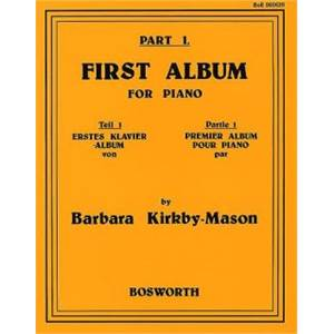 KIRKBY MASON BARBARA - FIRST ALBUM VOL.1 PIANO