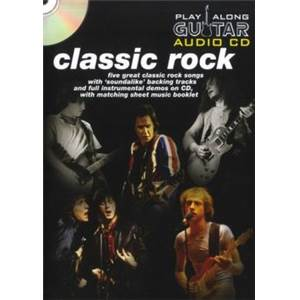 COMPILATION - CLASSIC ROCK PLAY ALONG GUITAR + CD