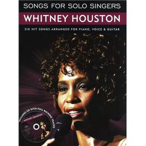 HOUSTON WHITNEY - SONGS FOR SOLO SINGERS + CD
