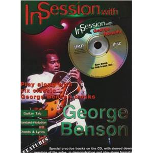 BENSON GEORGE - IN SESSION GUITAR TAB. + CD