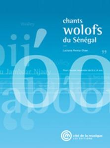 PENNA-DIAW LUCIANA - CHANTS WOLOFS DU SENEGAL +CD - LIVRE