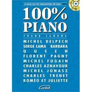 COMPILATION - 100% PIANO VOL.2 + CD