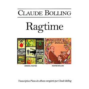 BOLLING CLAUDE - RAGTIME PIANO SOLO