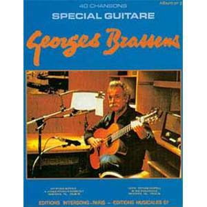 BRASSENS GEORGES - 40 CHANSONS GUITARE VOL.2
