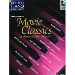 MOVIE CLASSICS VOL.1 (ARRANGEMENTS DE GERLITZ CARSTEN) +CD - PIANO