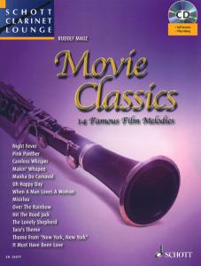 COMPILATION - MOVIE CLASSICS FOR CLARINET (SIB) +CD