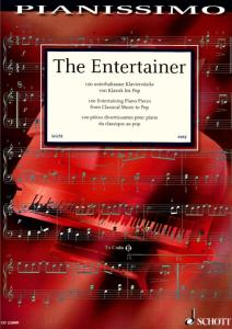 THE ENTERTAINER : 100 PIECES DIVERTISSANTES DU CLASSIQUE A LA POP - PIANO