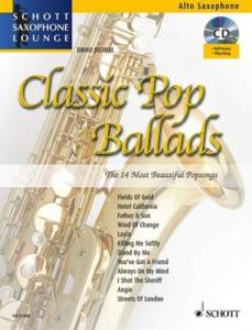 COMPILATION - CLASSIC POP BALLADS FOR ALTO SAXOPHONE (MIB) +CD