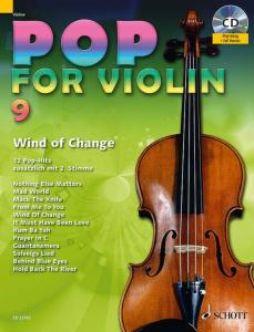POP FOR VIOLIN VOLUME 9 +CD  - VIOLONS (1-2)