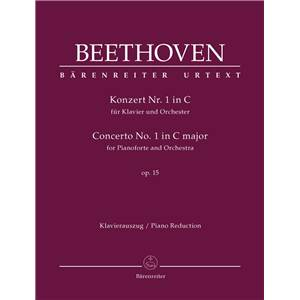 BEETHOVEN LUDWIG VAN - CONCERTO POUR PIANO No1 OP.15 EN DO MAJ. - 2 PIANOS